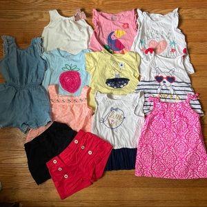 Baby Girl Lot Clothes 24 Mo